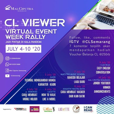 CL VIEWER | Virtual Event Week Rally Mal Ciputra