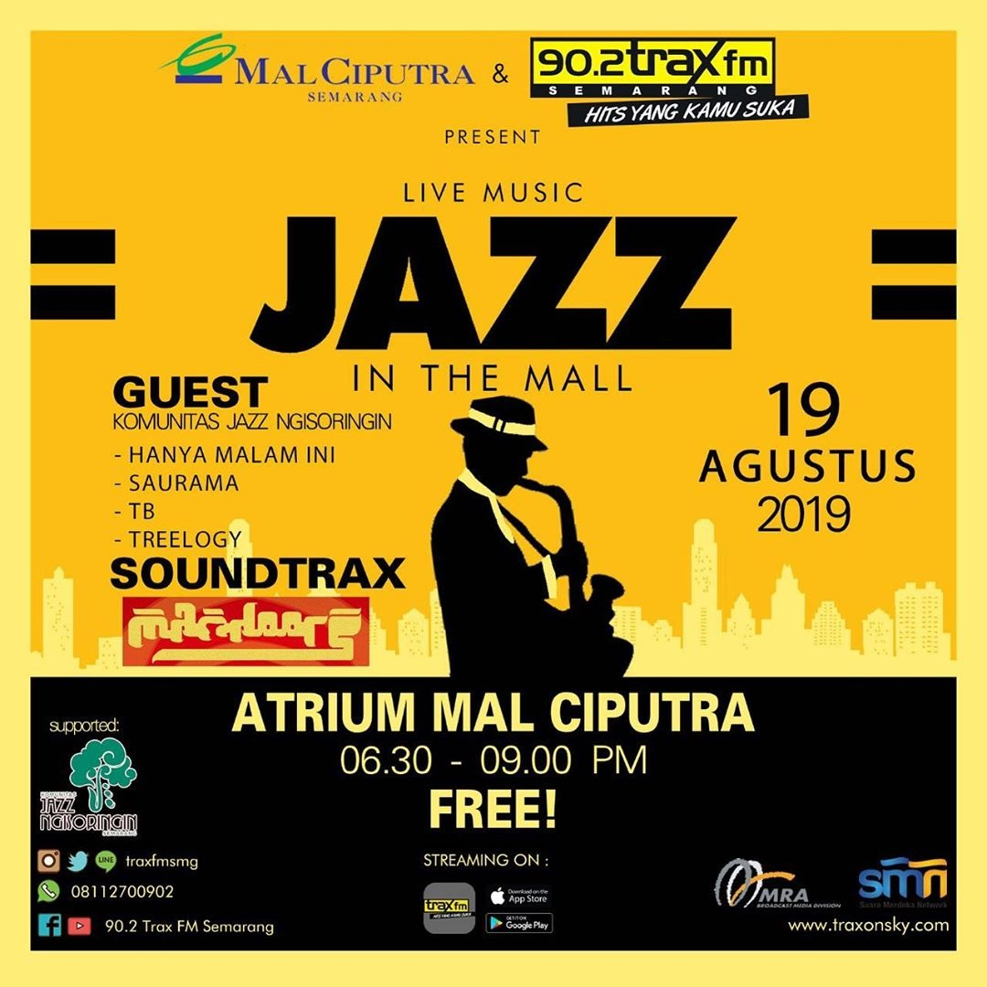 Jazz in The Mall – Agustus 2019