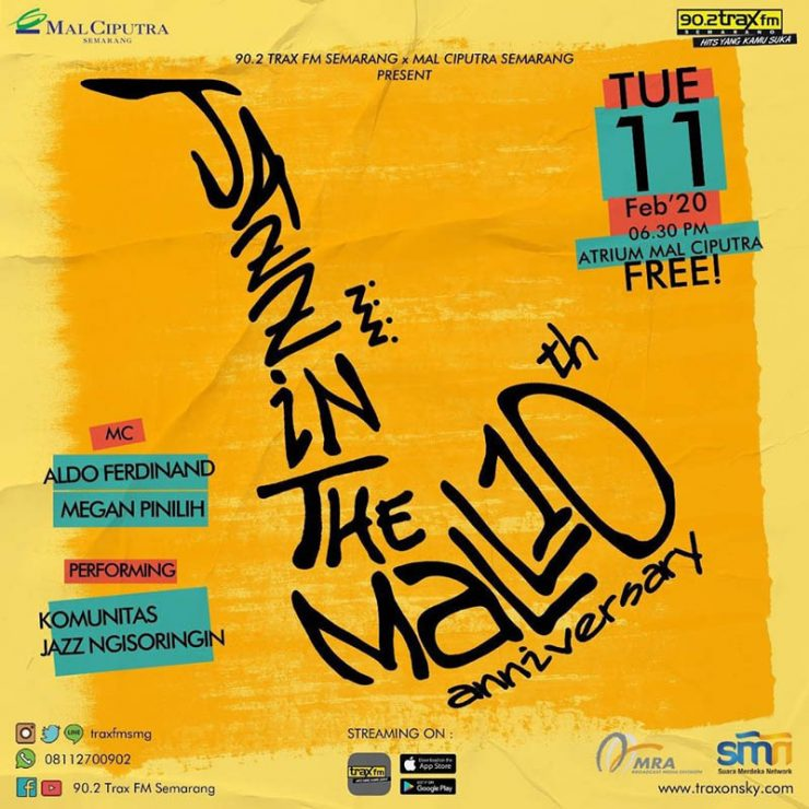 10th Anniversary of Jazz in The Mall