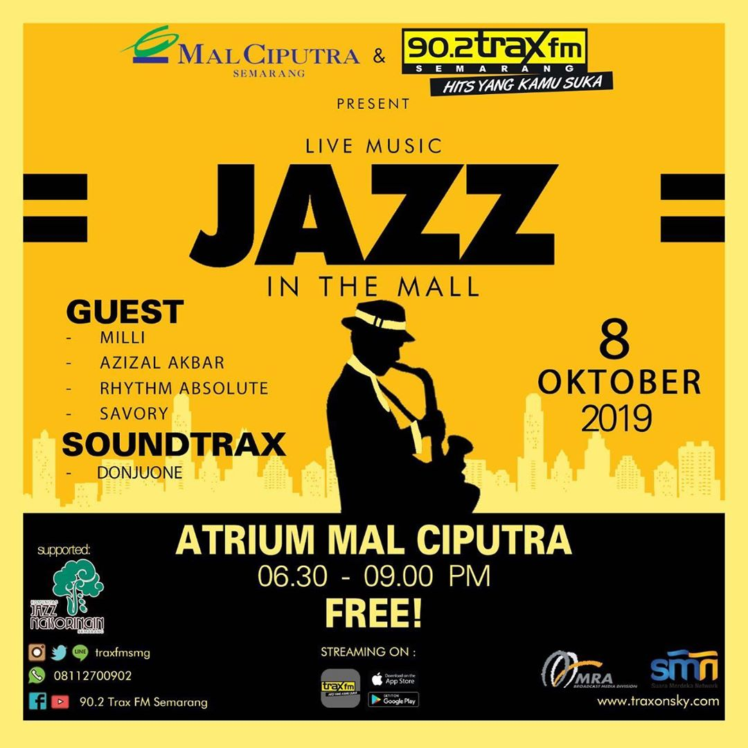 Jazz in The Mall - Oktober 2019 Mal Ciputra Semarang