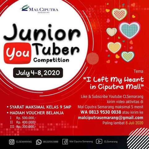 Junior Youtuber Competition Mal Ciputra