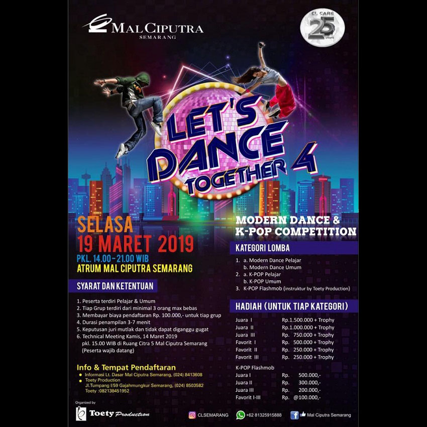 Let's Dance Together 4 - Mal Ciputra