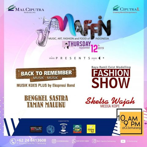 MAFFIN - Music, Art, Fashion and Food of Indonesia