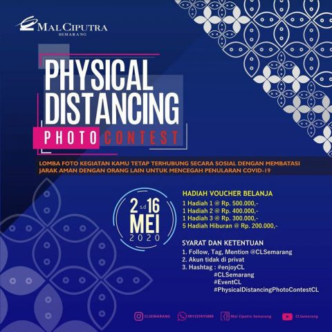 Physical Distancing Photo Contest Mal Ciputra Semarang