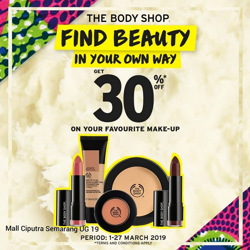 The Body Shop - Find Beauty in Your Own Way